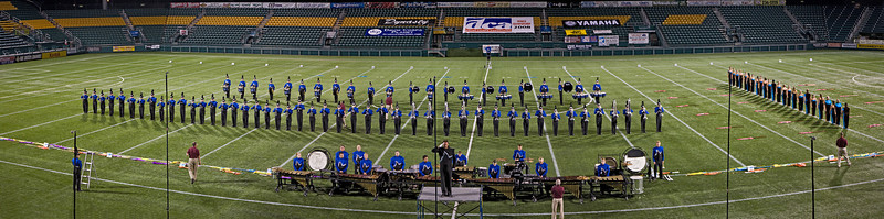 2008 Buccaniers starting lineup.  2007/2008 DCA Senior Drum Corps Championships