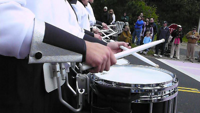 Lilac Festival 2010, The Statesmen drum line.