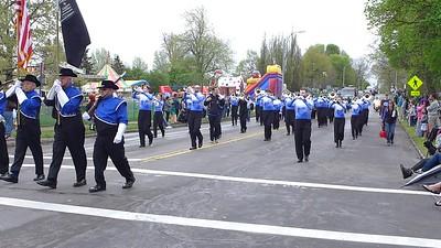 White Sabers 2018 Lilac Parade