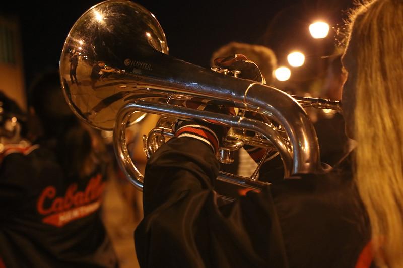 Hawthorne Friday night practice session.
