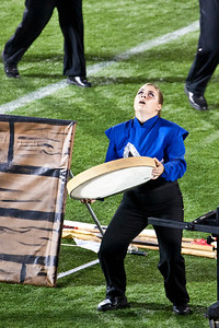 DCA World Champions 2011 Minnesota Brass  score 98.35.  Pit member mourns loss of King in show.