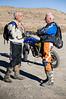 Gary & Grant talking Pre-Ride - Dual Sport Utah 500 - Photo by Pat Bonish