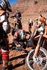 Trail Side Repairs - Dual Sport Utah 500 - Photo by Pat Bonish