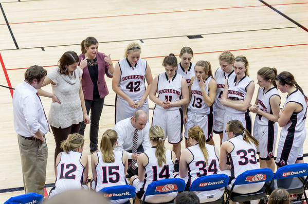 Duchesne Basketball State Tournament Game