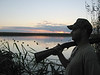 Duck hunting in Pass-A-Loutre, Louisiana
