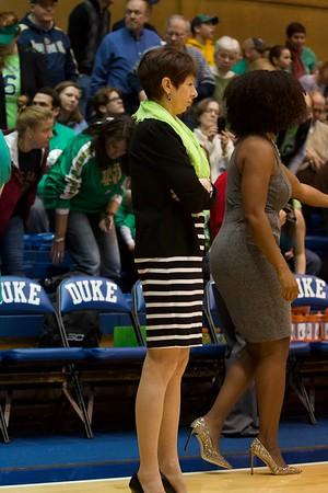 Duke Women v Notre Dame 2018