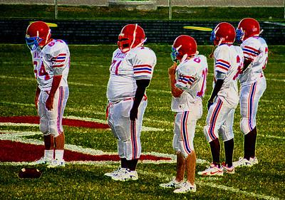 Dulles High School Freshman Football Sept 21 2006