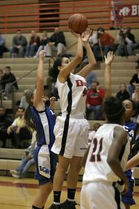 Chantelle scores her one thousandth career point at Dunbar High School