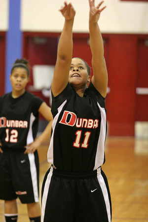 Dunbar Basketball at Lafayette Varsity