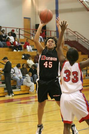 Dunbar Basketball at Lafayette JV