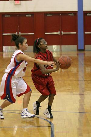 Dunbar Basketball at Lafayette Freshman