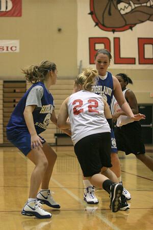 Dunbar Basketball vs Highlands Scrimmage JV