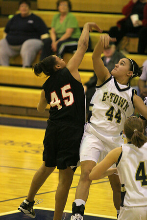 Dunbar Basketball vs ETown JV