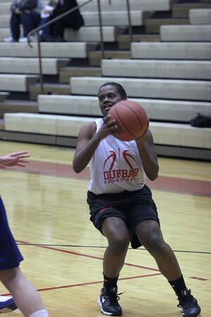 Dunbar Basketball vs Highlands Scrimmage Varsity