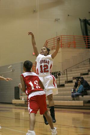 Dunbar Basketball vs Holmes
