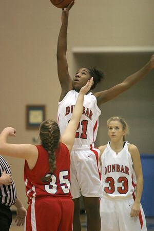 Dunbar Basketball vs Model