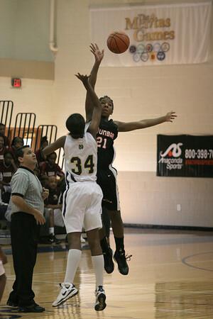 Dunbar Basketball vs North Broward in Orlando