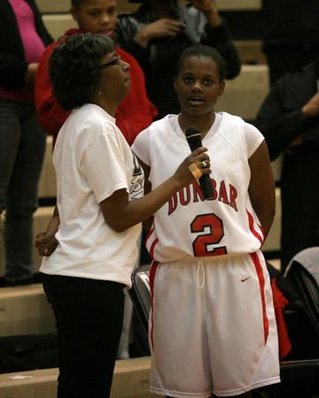 Dunbar Basketball vs T.C. Varsity 2.16.2009