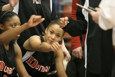 Dunbar Basketball 2008-2009
