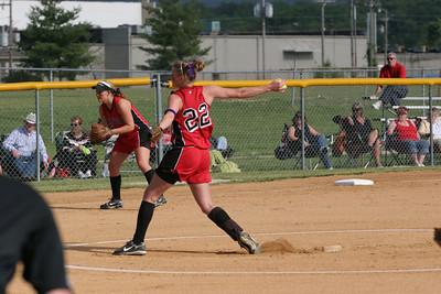 PLD Softball vs Scott County  Regional Tournament Gallery 1