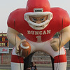 Photo by Bob Morris, Sports Editor -The Duncan Banner. Sports Editor's picture pick.
