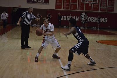 Duncan vs Altus boys basketball