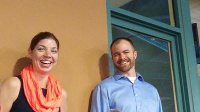 Sarah and Russ