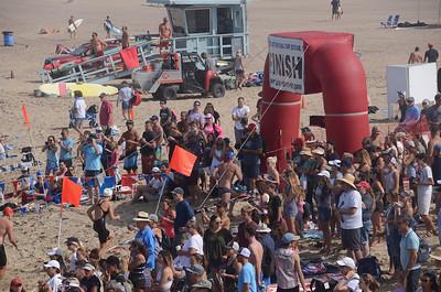 Dwight Crum Pier to Pier Swim 2018
