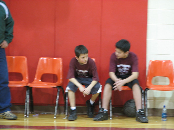 Dylan Spring 2007 Basketball