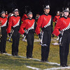 Debbie Blank | The Herald-Tribune<br /> The band sounded great on the field before the game began.