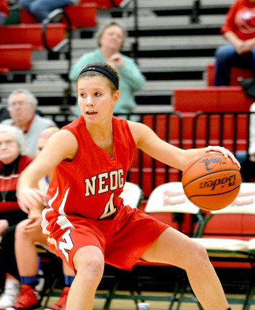 SECOND TEAM<br /> Madison Butler<br /> Neoga<br /> Junior guard<br /> 2013-14 STATISTICS<br /> 12.7 ppg, 5.5 apg, 2.5 spg<br /> AWARDS/HONORS<br /> 1st team All-NTC, All-NTC Tournament