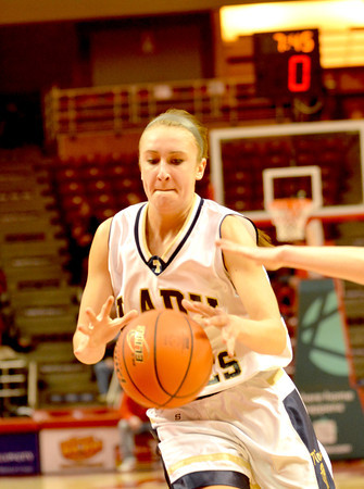 FIRST TEAM<br /> Madeline Hartke (Player of the Year)<br /> Teutopolis<br /> Senior forward<br /> 2013-14 STATISTICS<br /> 12.1 ppg, 5.3 RPG, 1.75 APG, 45.7% FG, scored 1,000th career point<br /> AWARDS/HONORS<br /> 1st team AP All-State, 2nd team IBCA Class 1A/2A All-State, 2nd team All-Highland Tournament