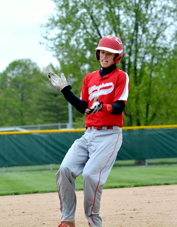 HONORABLE MENTION<br /> Braydon Bone<br /> Effingham<br /> Junior<br /> 2014 Statistics<br /> .352 BA, .443 OBP, 10 RBI, 25 R, 10 SB<br /> Awards/Honors<br /> First Team All-Apollo
