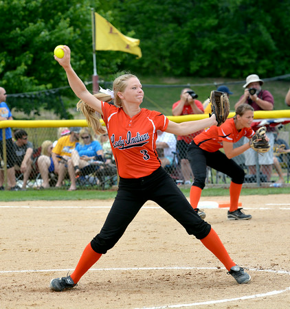 FIRST TEAM<br /> Deidre Ledbetter (Player of the Year)<br /> Altamont<br /> Senior<br /> 2014 Statistics<br /> .476 BA, .513 OBP, .781 SLG, 50 H, 18 2B, 4 3B, 2 HR, 48 RBI, 7 SB, 7 BB, 41 R, 26-3, 3 saves, 1.11 ERA, 183.2 IP, 284 K, 0.686 WHIP, 24 BB<br /> AWARDS/HONORS<br /> National Trail Conference MVP, ICA Class 1A First Team All-State