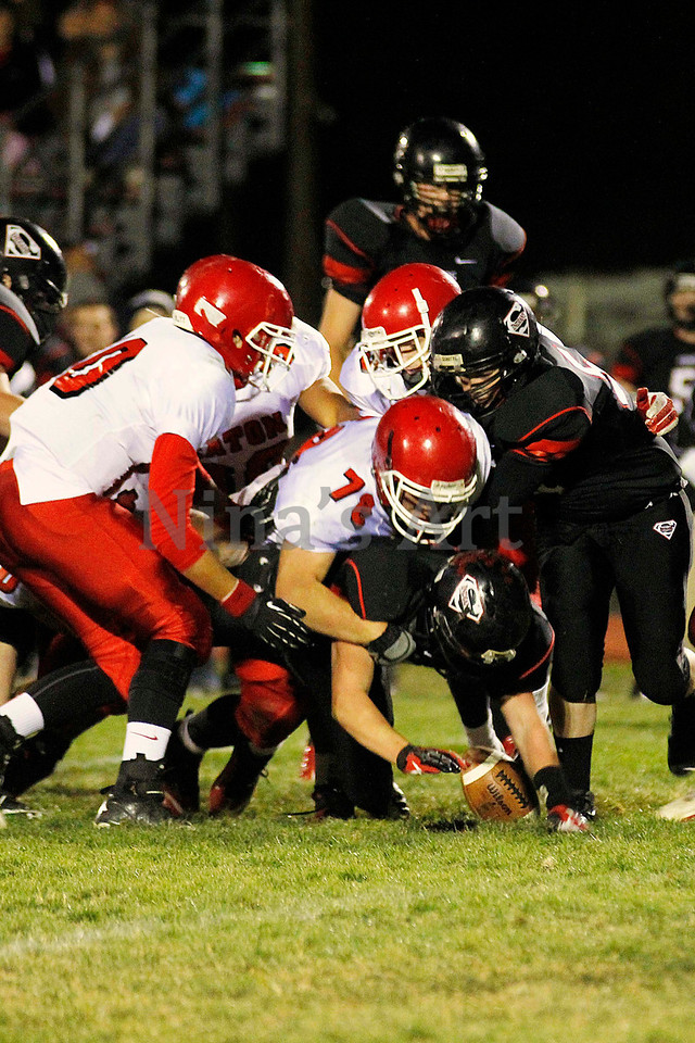 EHS football vs Strasburg 2