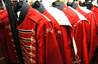 Elyria High band uniforms will be sold with other memorabilia on Saturday.   Steve Manheim