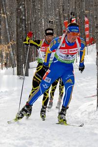 Fredrik Lindstrom - 27 (SWE), Simon Fourcade - 29 (FRA)