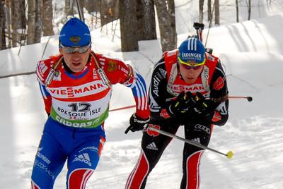 Maxim Tchoudov - 12 (RUS), Andreas Birnbacher - 13 (GER)