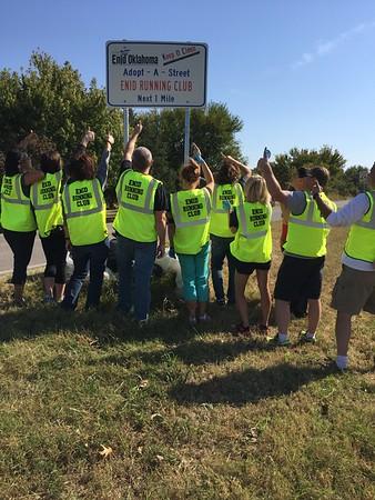 ERC Adopt A Street Clean Up