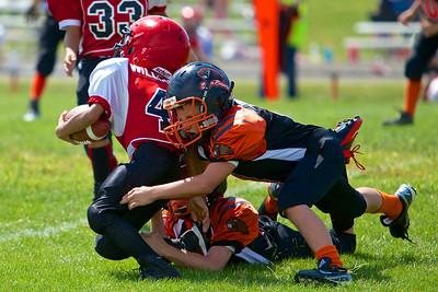 Bcreek vs HH 3rd Grade 8/17