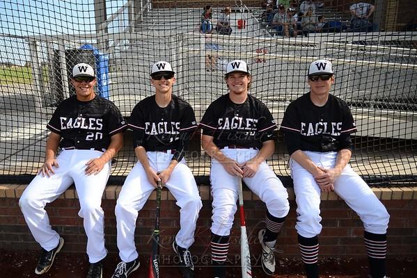 Eagle Baseball Senior Night~2017