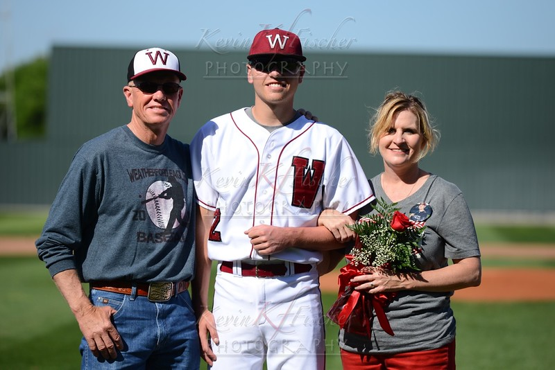 Eagle Baseball~SR Night~4/25/15
