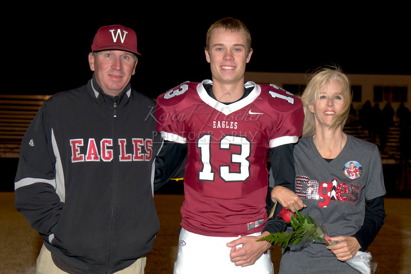 Eagle Football ~Senior Night~C/C All Staters~by Danny Ediger~11/8/13