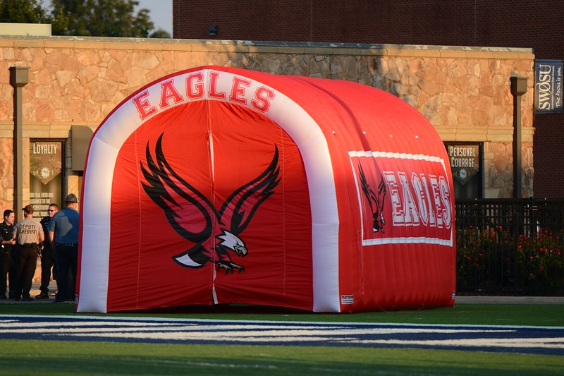 Eagle Football vs Clinton~9-25-15