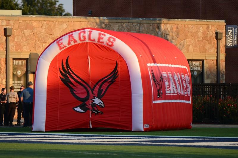 Eagle Football vs Clinton~9-25-15