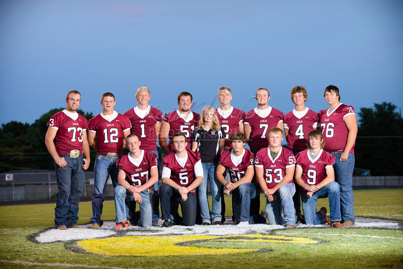 Eagle Senior Football Players~2015