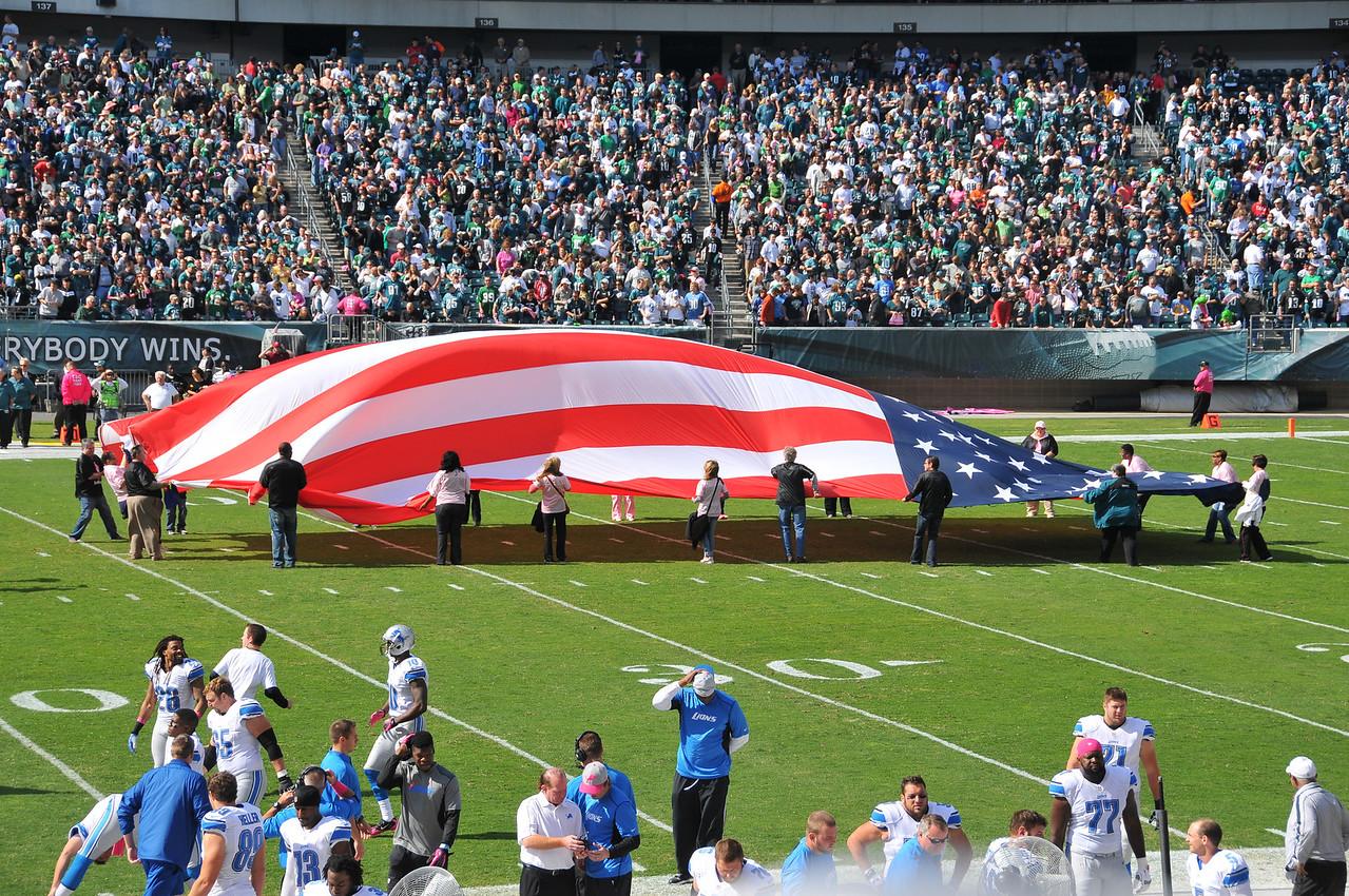 National Anthem - October 2012