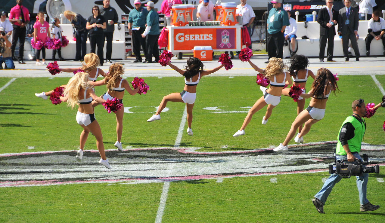 Philadelphia Eagles Cheerleaders - October 2012