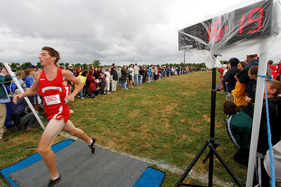09/04/2010  Russ McCune of Wadsworth finishes 2nd at the Early bird. Photo by Tom Mahl