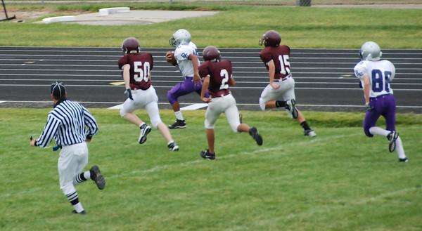 East 9th grade football vs. Papillion